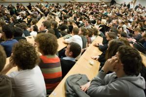 Assemblée générale de l'UFR d'histoire, contre la loi Pécresse - 2009