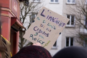 Manifestation contre la loi Pécresse - 2009