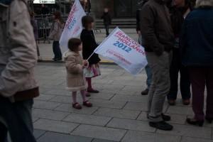 Fête pour la victoire socialiste aux élections présidentielles - Caen - 2012